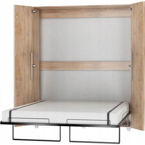 Κρεβάτι Τοίχου WEPUS σε απόχρωση Sonoma 160×200